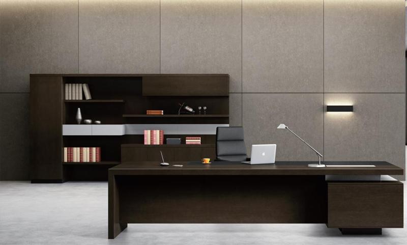雷腾系列Y020高管桌正面图片