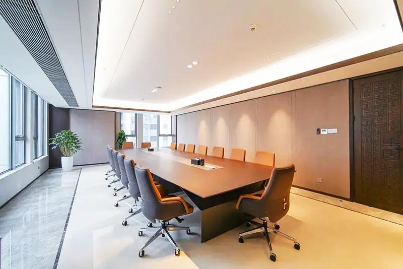集团企业老款友博国际棋牌家具工程案例之会议桌椅