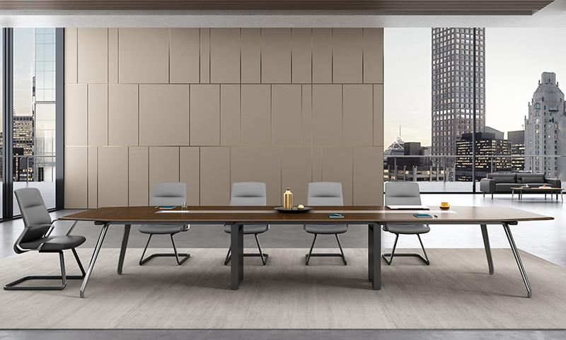 格调系列H034会议桌正面图片