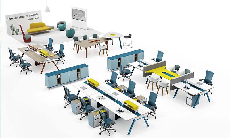 麦格系列洽谈会议一体桌