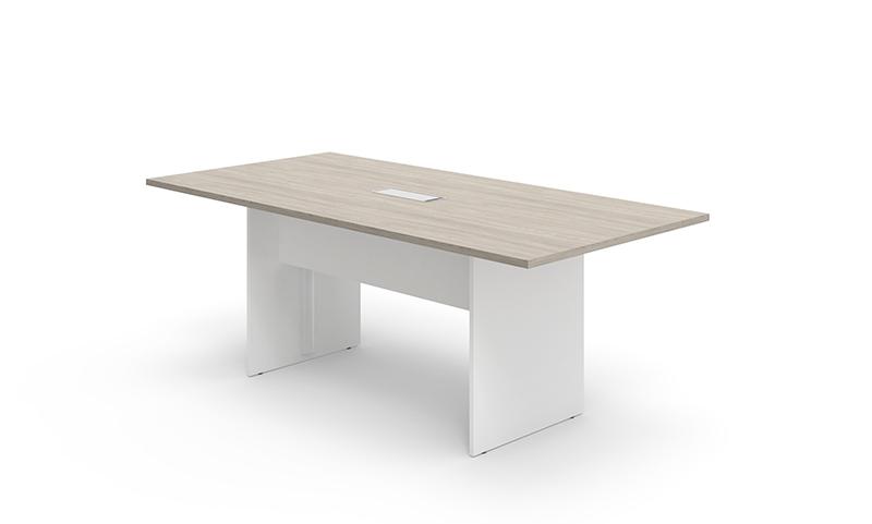 维易系列FWY40会议桌—流光橡木