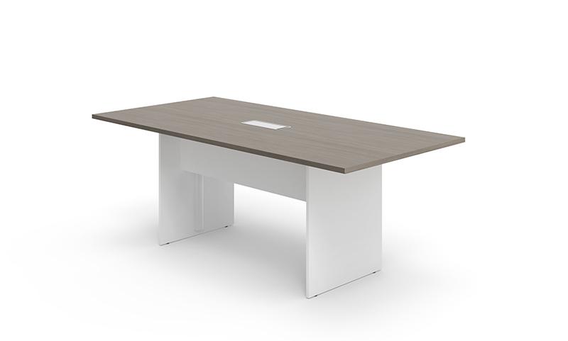 维易系列FWY40会议桌—摩卡橡木