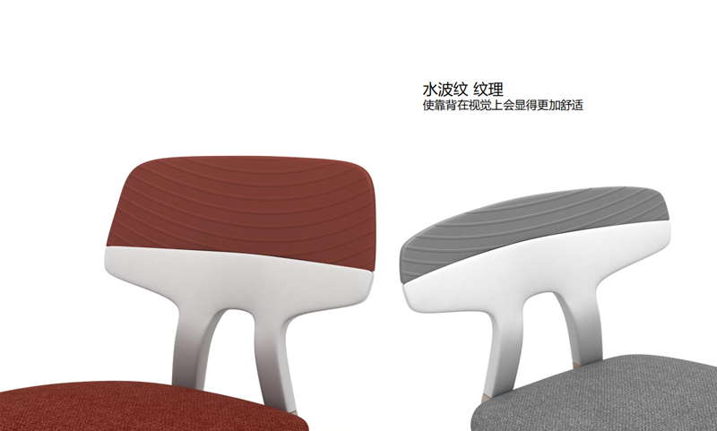 思尚系列吧台椅靠背纹理图