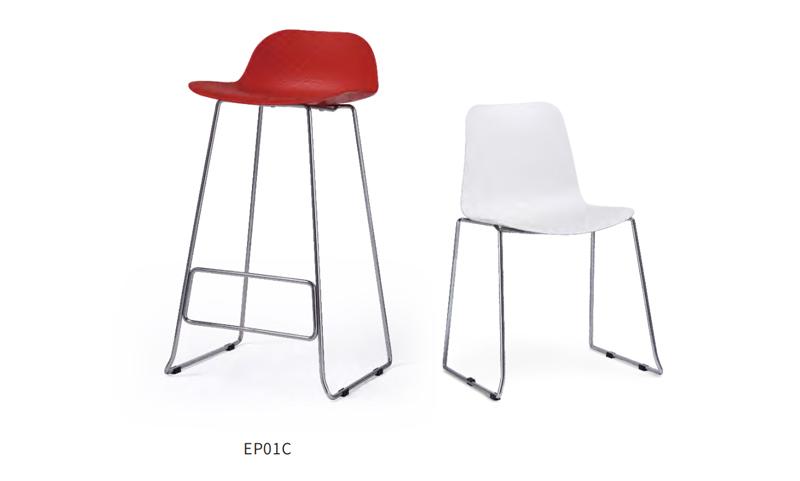 思度塑料吧椅
