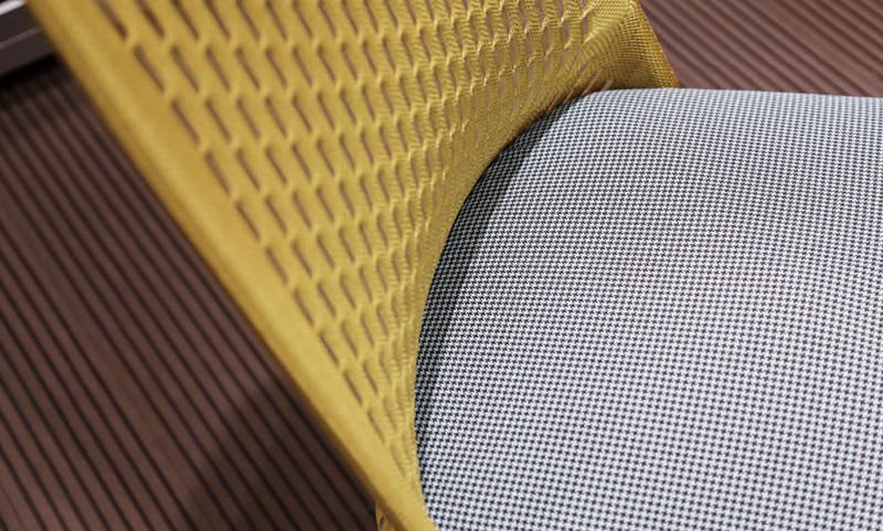 CARLOS卡洛姿系列针织网布老款友博国际棋牌沙发凳细节图