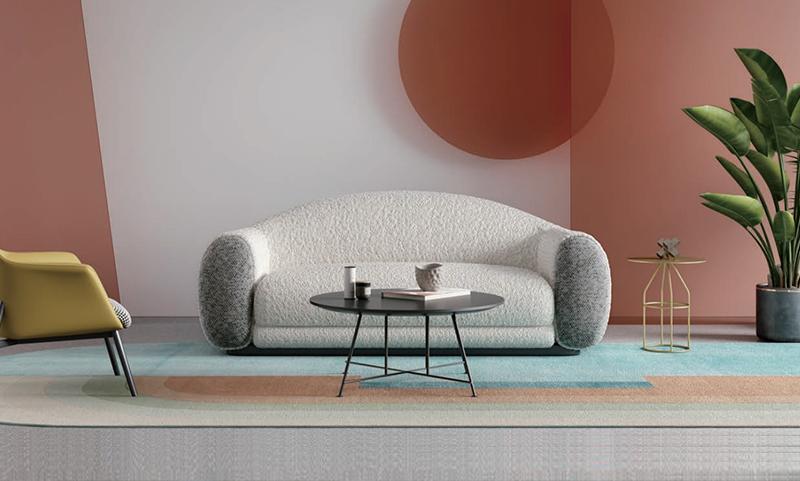 贝拉系列羊绒卷休闲老款友博国际棋牌沙发
