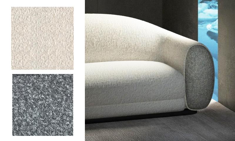 贝拉系列羊绒卷休闲老款友博国际棋牌沙发细节图